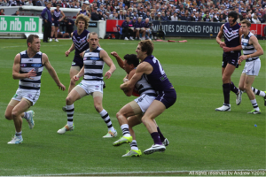 australian rules football strength training improve tackling