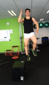 australian football vertical leap training strength jump training develop power