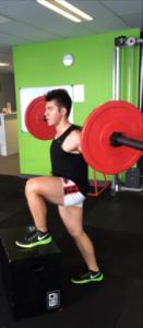 australian football develop vertical leap strength training